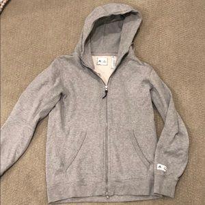 adidas Reigning Champ grey hoodie
